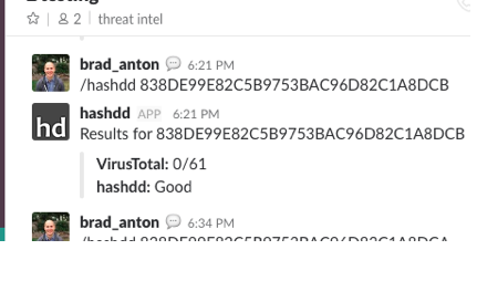 hashdd - Build and Search Threat Feeds